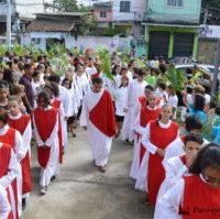 Iniciada a Semana Santa na Paróquia Santa Luzia