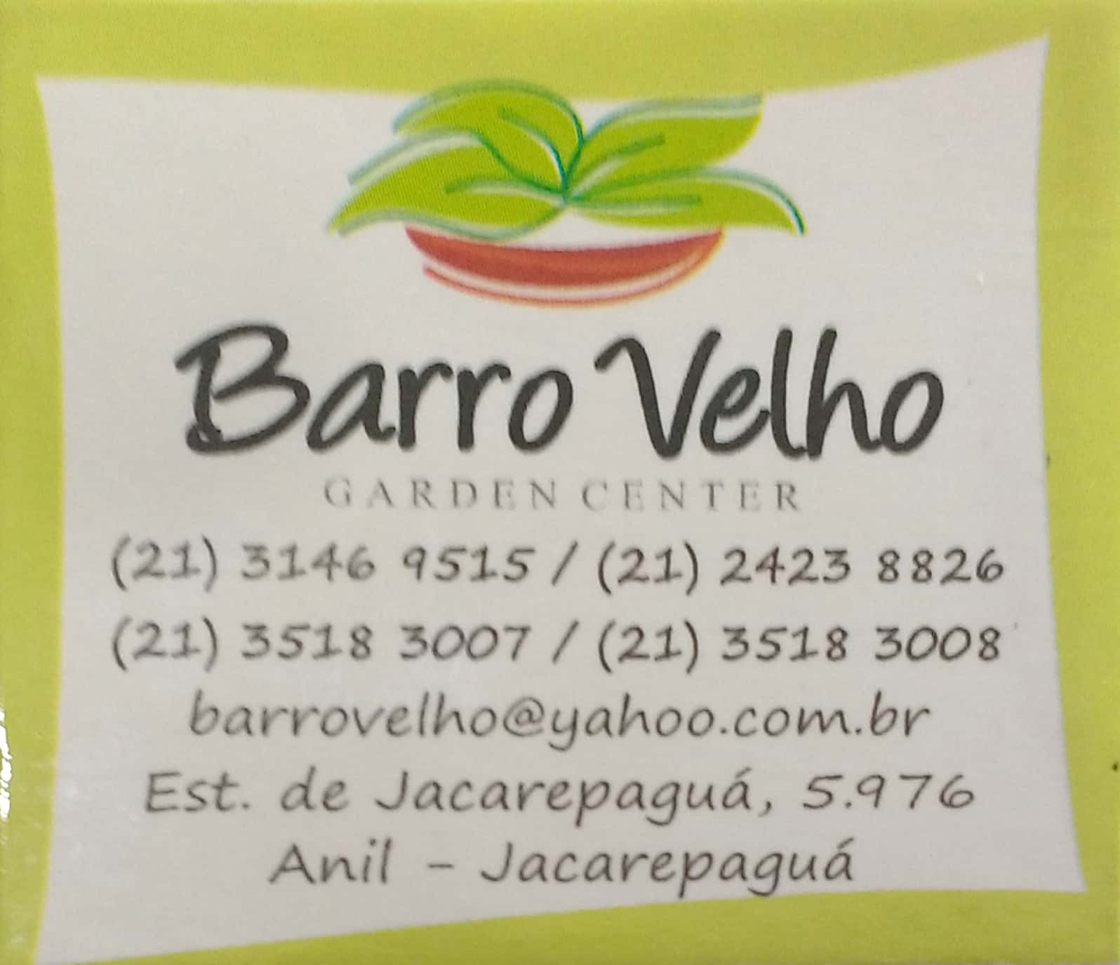 Barro Velho Garden Center