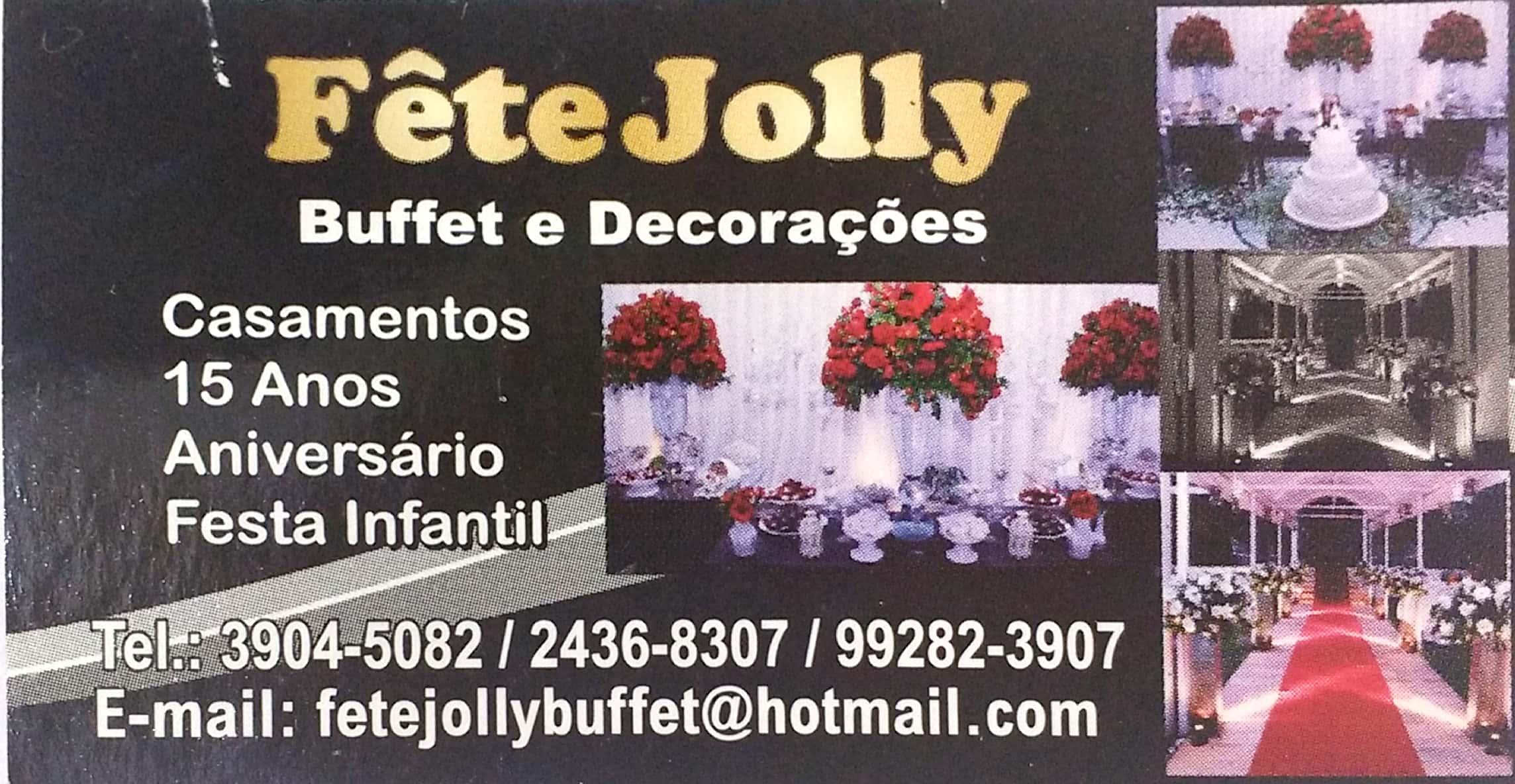 Fête Jolly Buffet e Decorações
